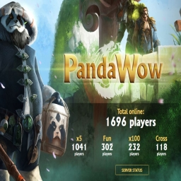 world of warcraft PRIVATE SERVERS เล่นฟรี ปิงเขียว